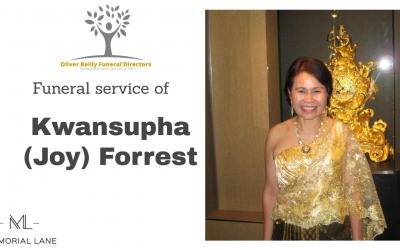 Kwansupha (Joy) Forrest